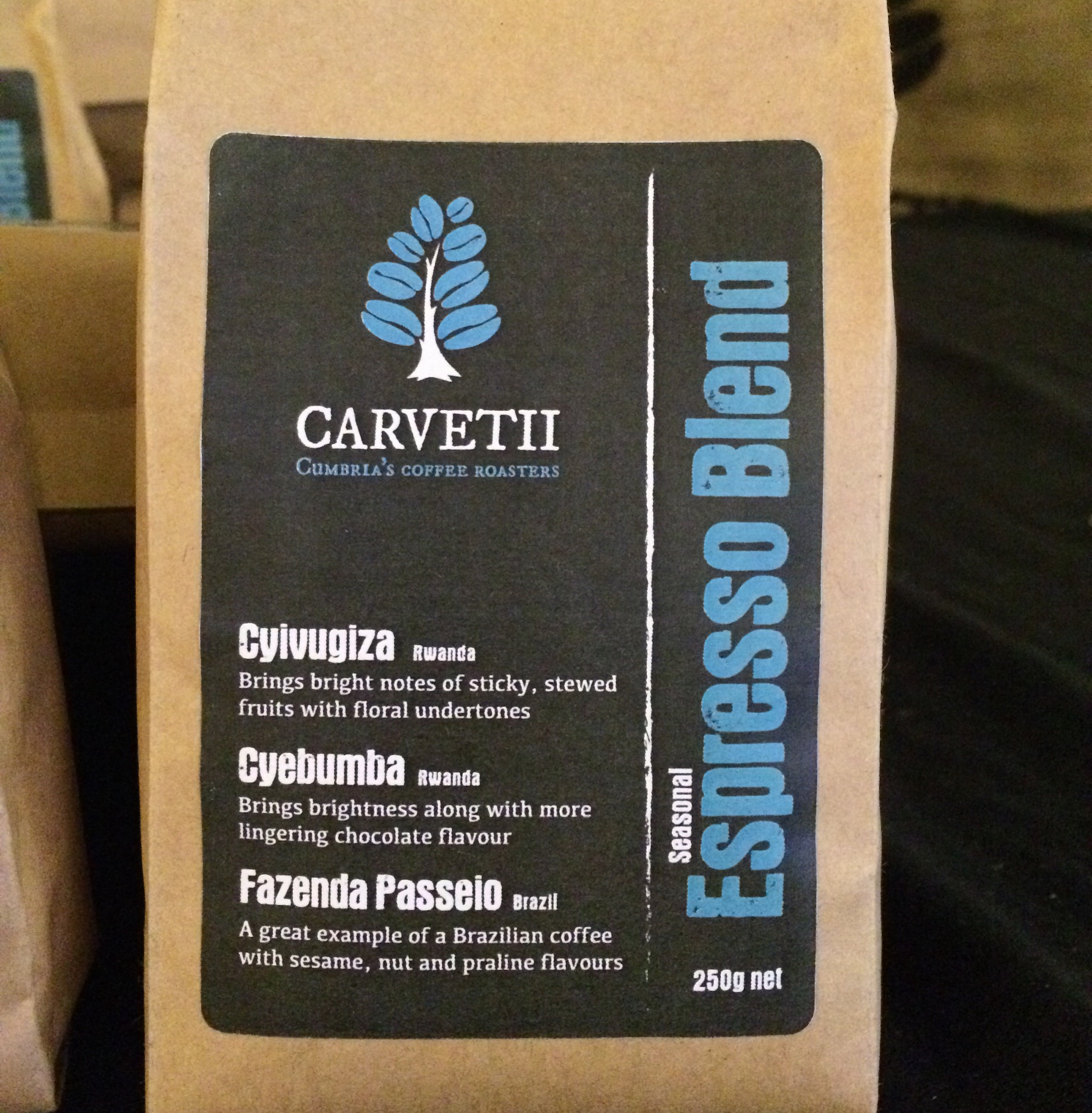 The impact of buying a bag of our coffee via @carvetiicoffee