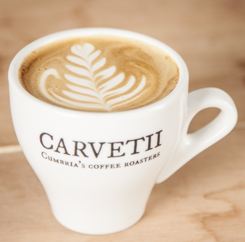 On the up via @carvetiicoffee