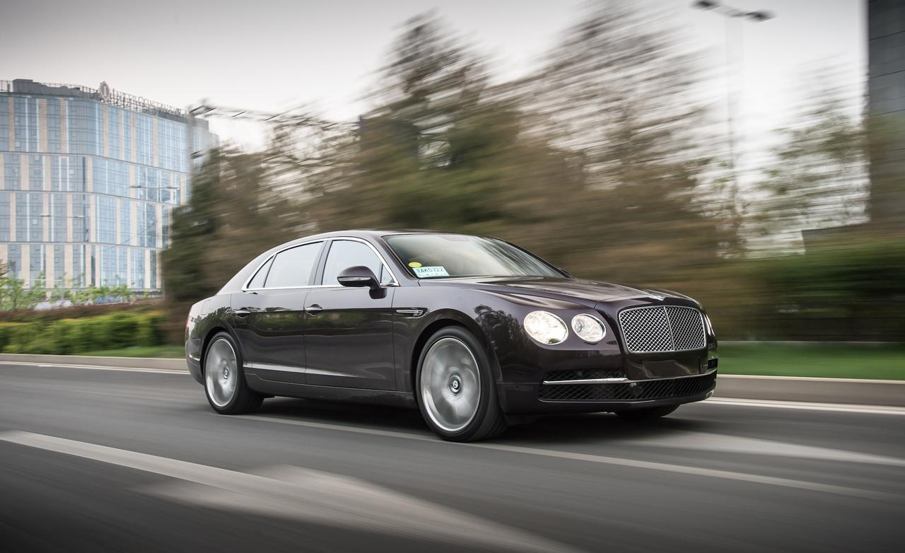 2014 Bentley Flying Spur 35 Car Background
