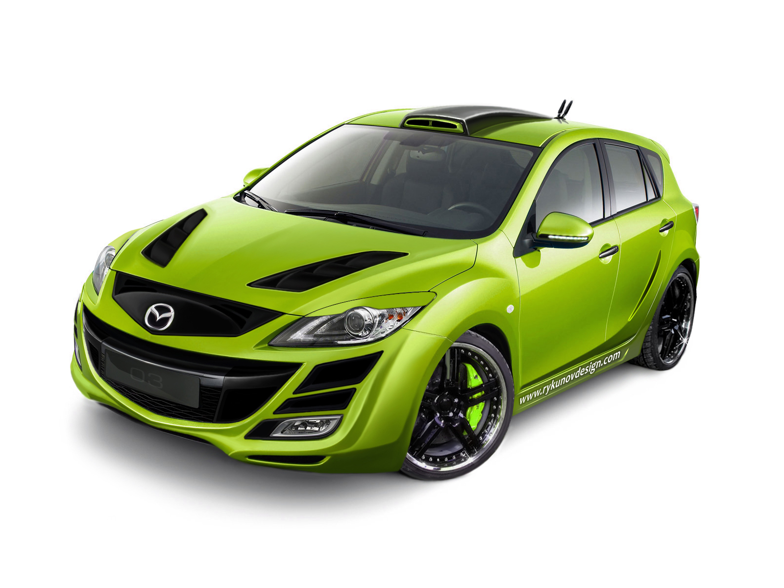 2013 Mazda Vector 3 Wallpaper HD Car Wallpapers ID 3889