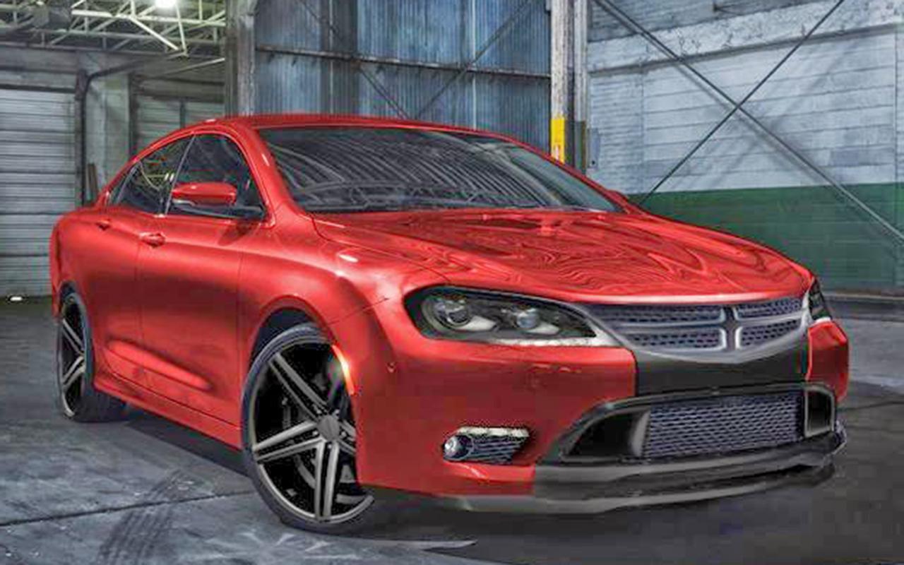 New Dodge 9 Widescreen Car Wallpaper
