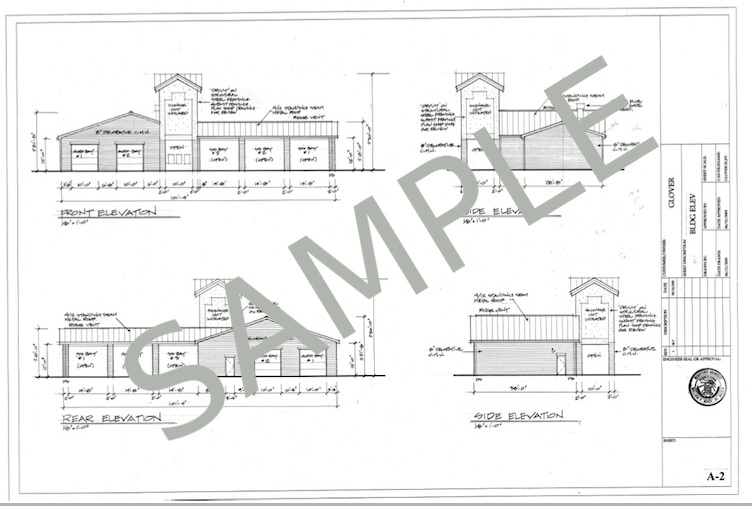 Plan And Elevation Of Car: House plans car garage front.