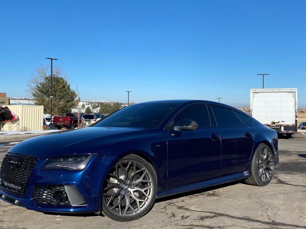 Audi RS7 window tinting