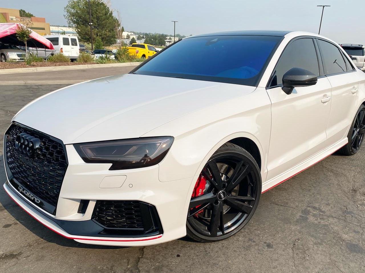 Audi Quattro ceramic window tinting side view