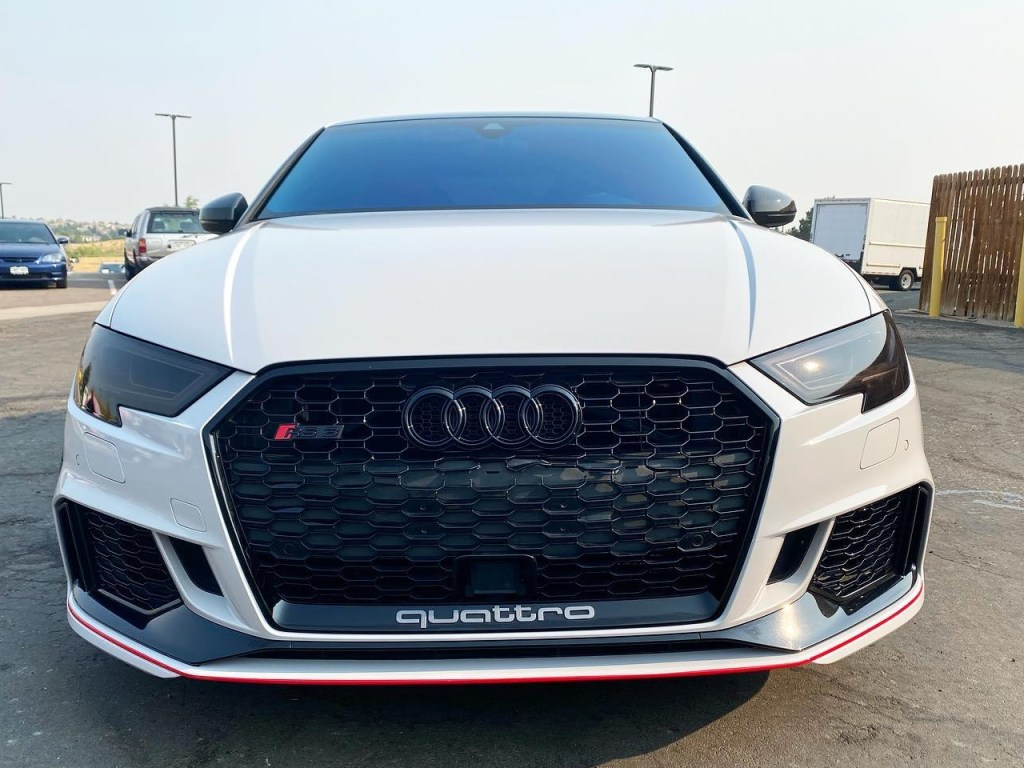 Audi Quattro window tinting