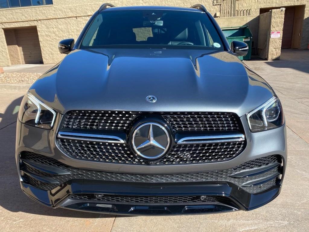 Mercedes Benz GLS 550 window tint front view