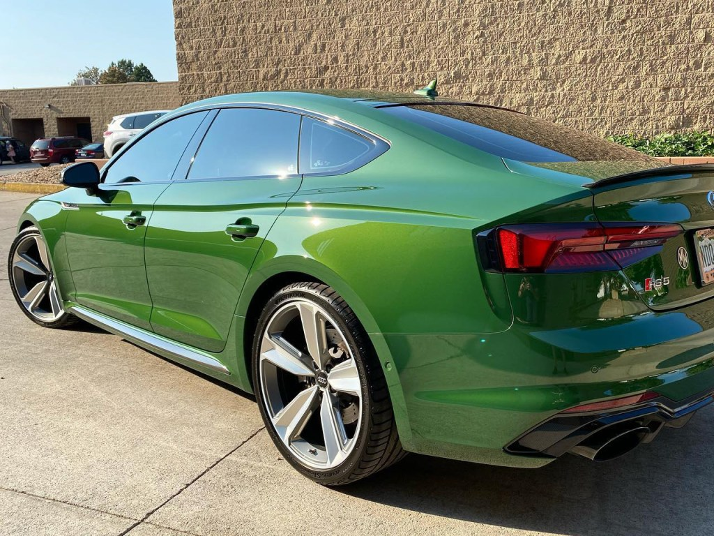Audi RS5 window tinting