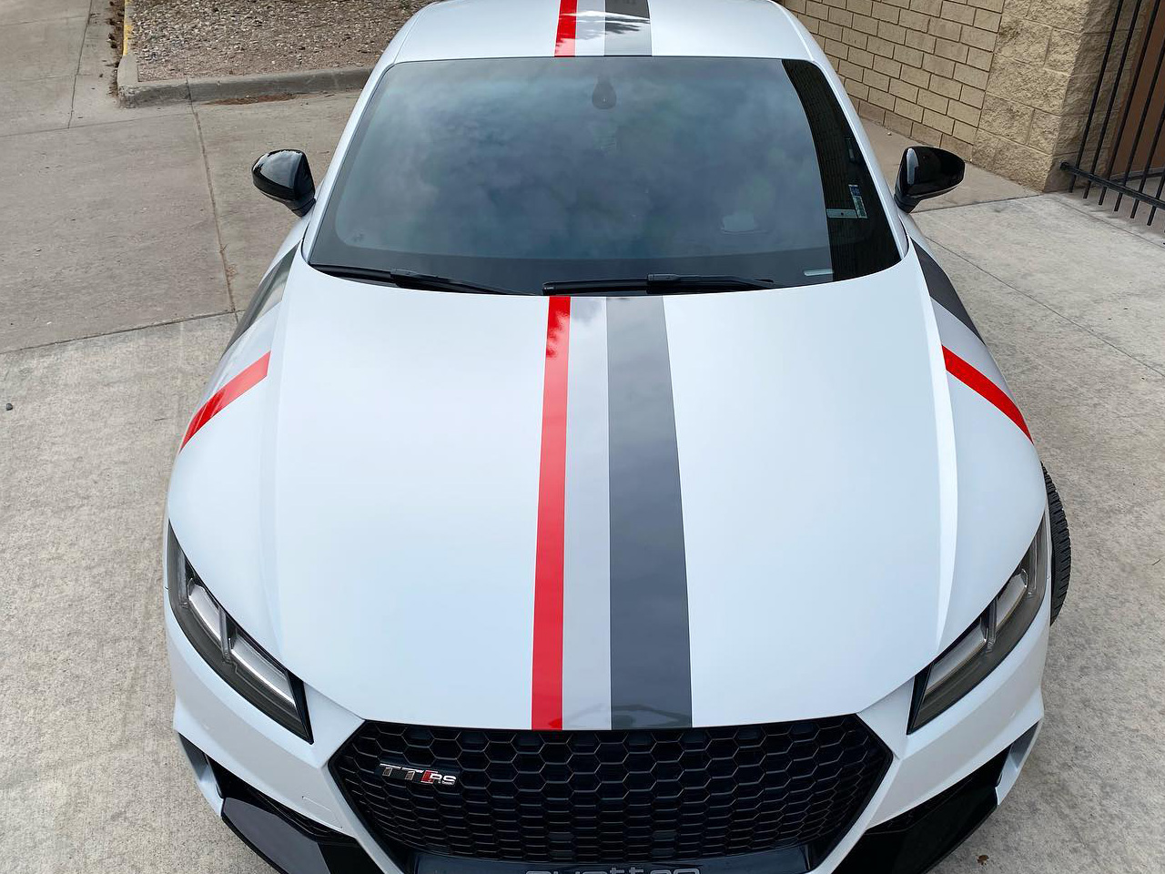 Audi TTRS window tinting