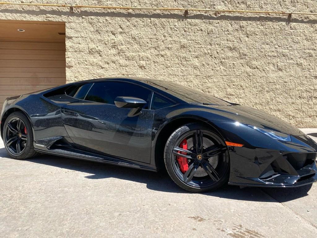 Lamborghini Huracan Evo window tinting