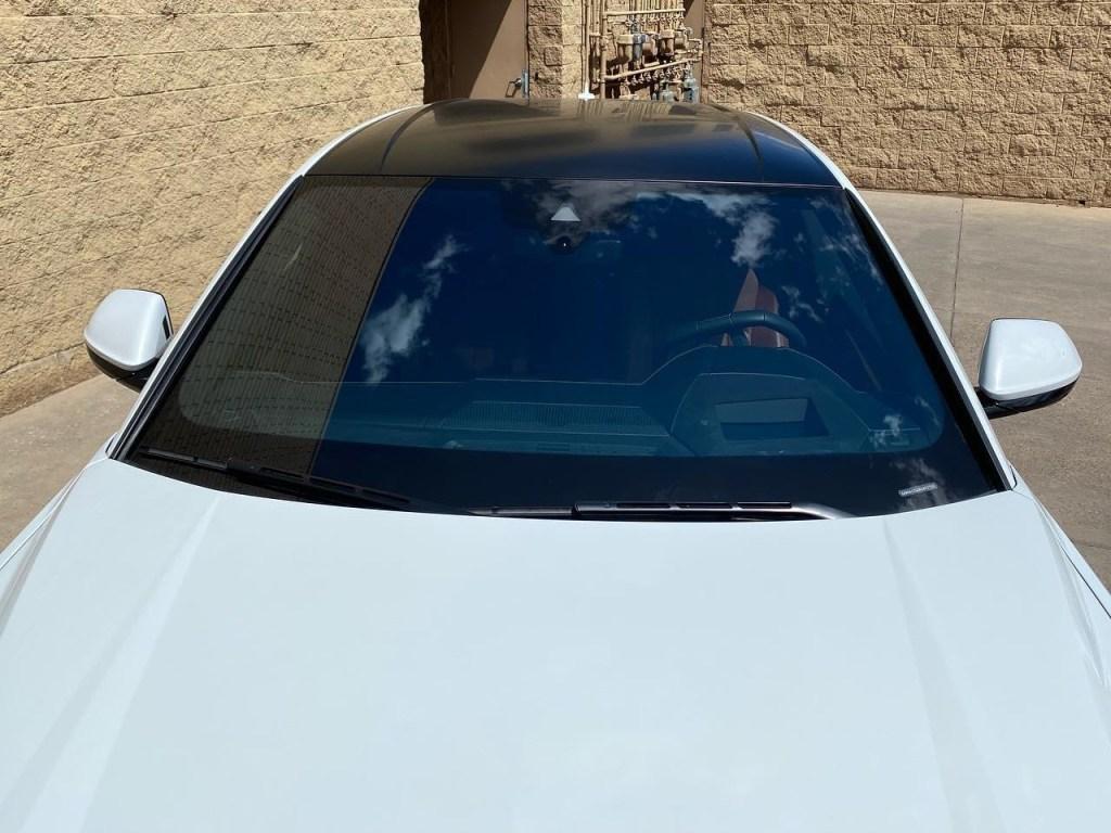 Lamborghini Urus tinted windows