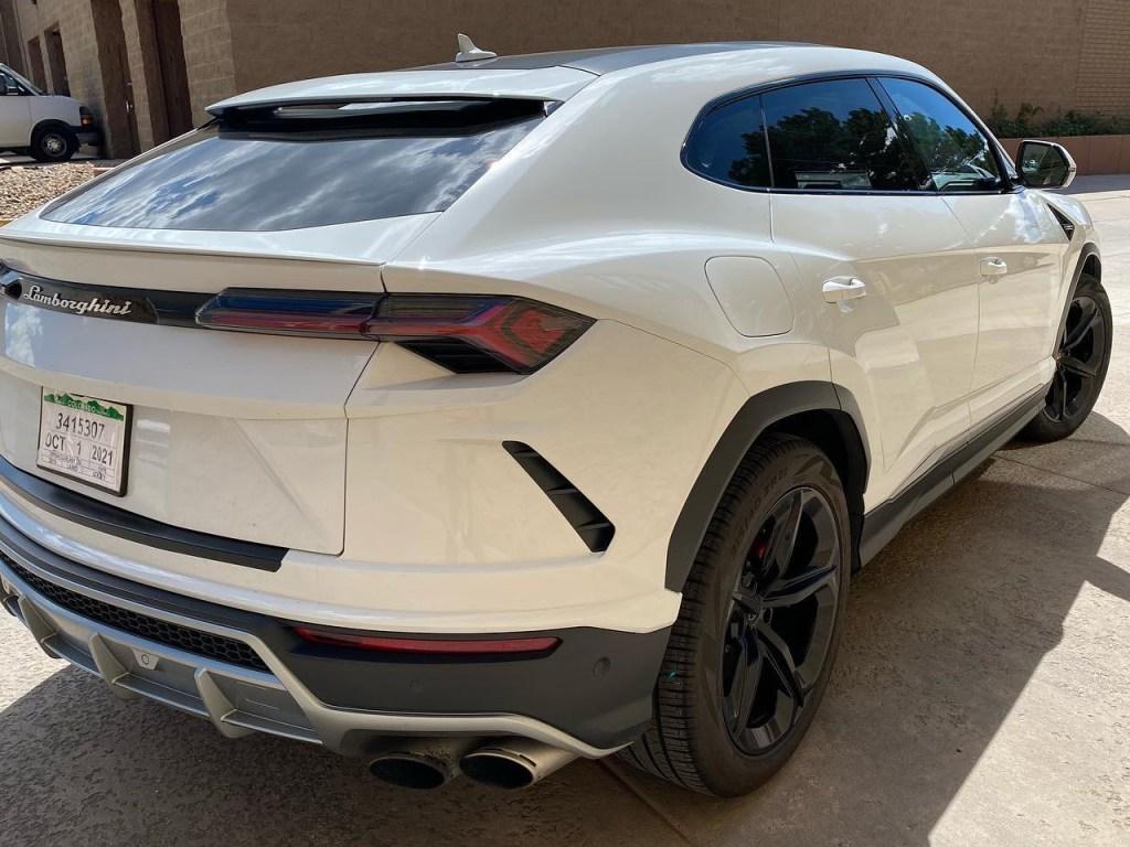 Lamborghini Urus window tinting