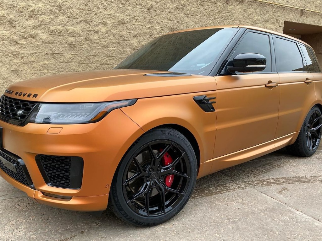 Range Rover Sport window tinting