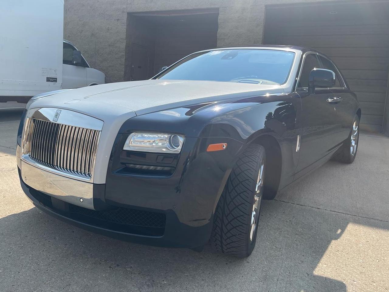 Rolls Royce Ghost 5% window tint