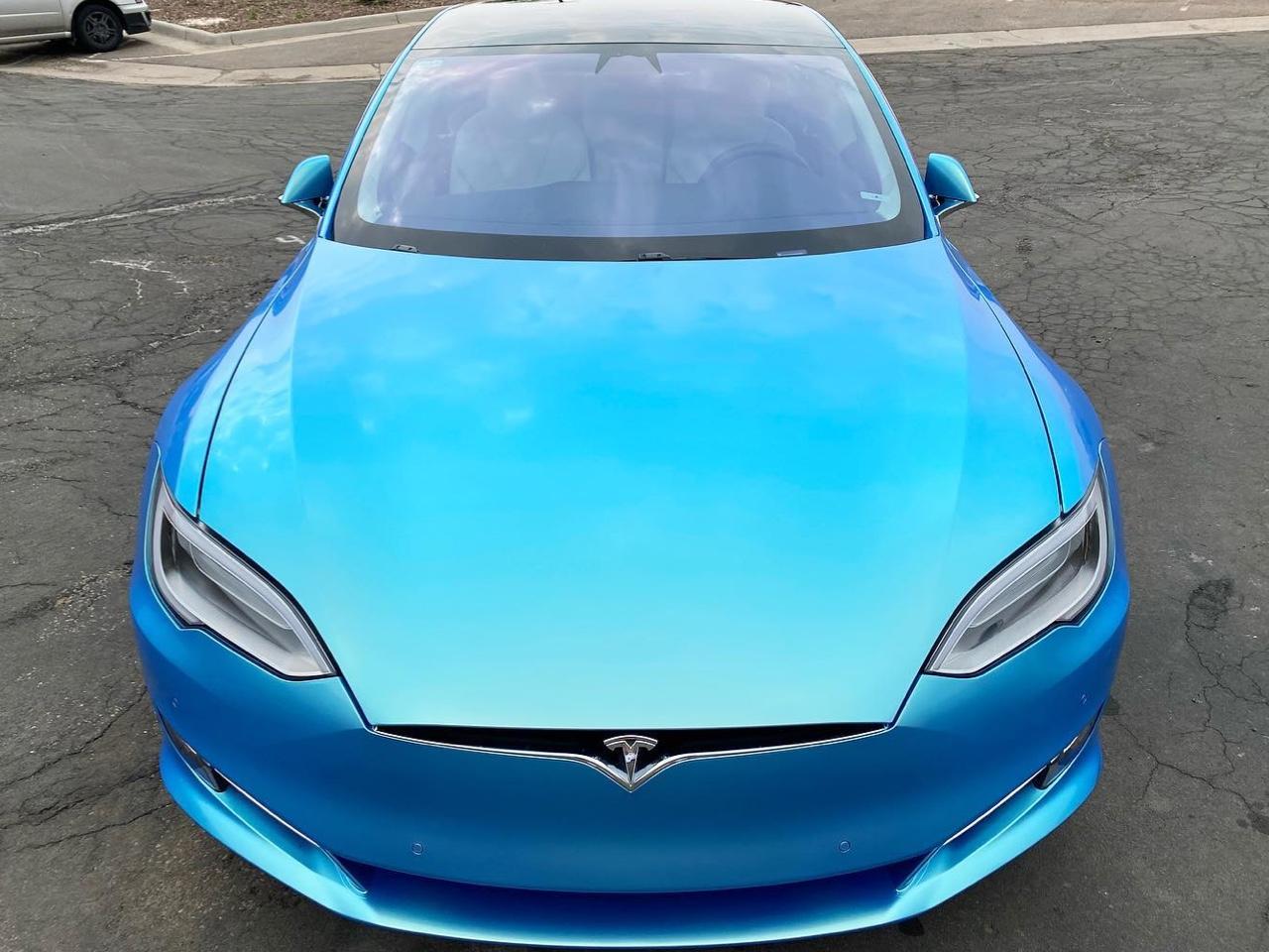 Tesla Model S window tint