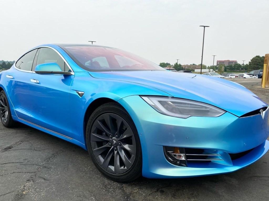 Tesla Model S window tinting