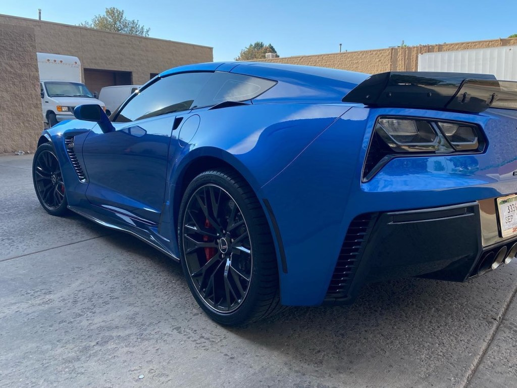 Z06 Corvette smoked out taillights