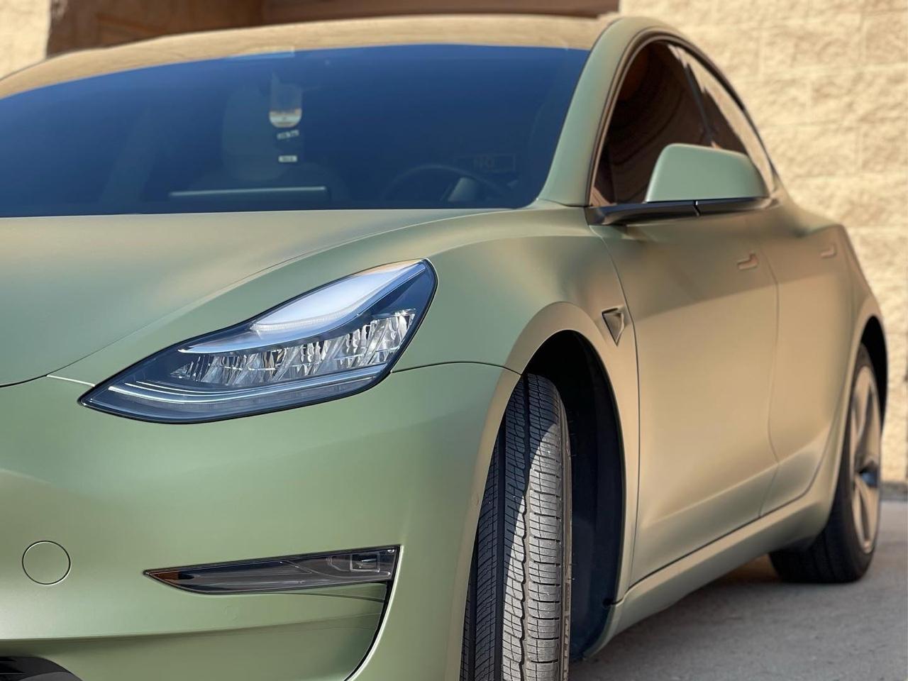Tesla Model 3 tinted windows