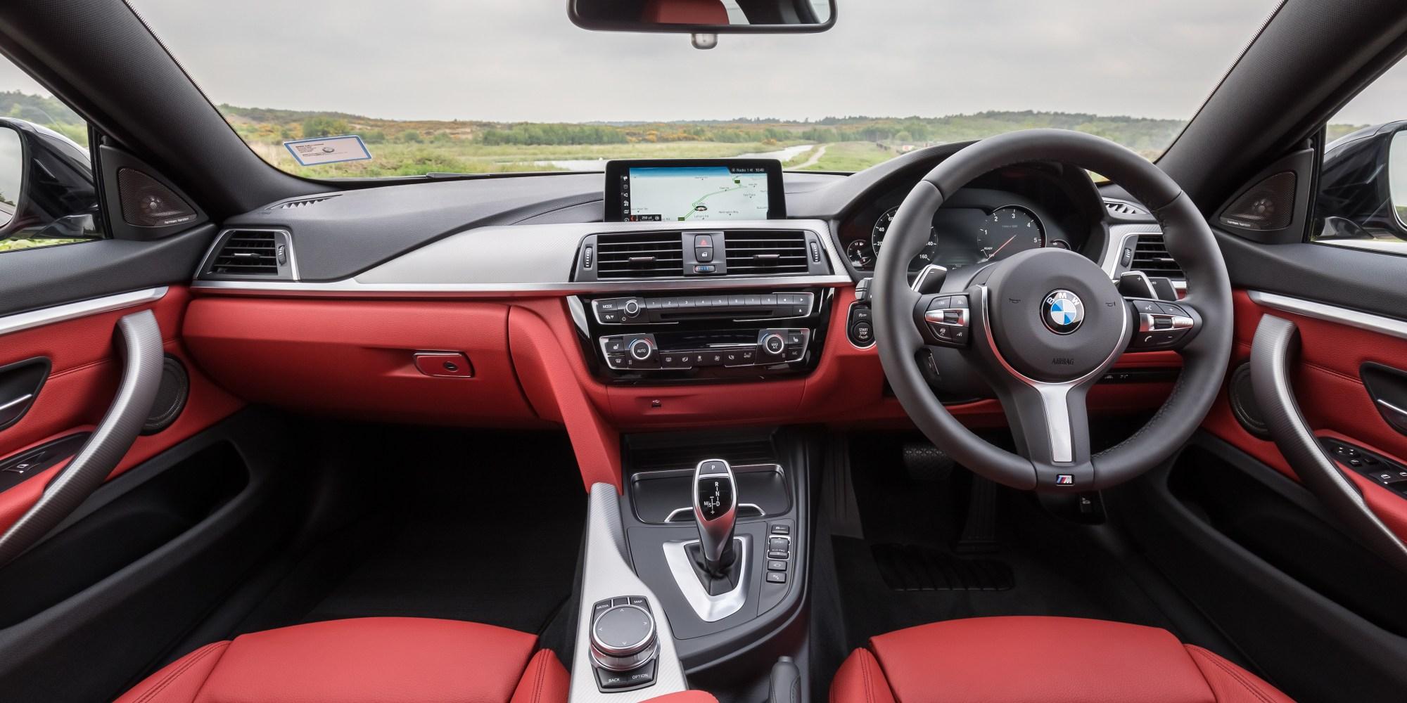 hight resolution of bmw 4 series interior