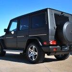Mercedes G Wagon Matte Black