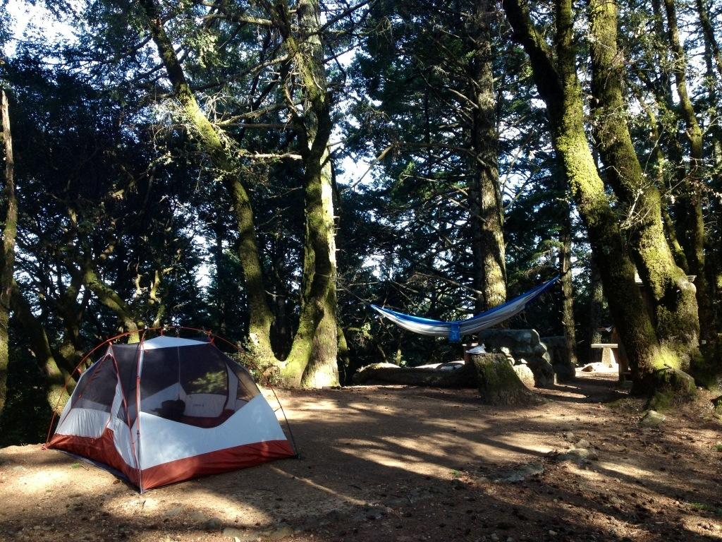 Hammock Camping In California