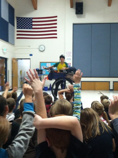 Sagle Elementary, Sandpoint, ID. School #2 of Get Out There program.