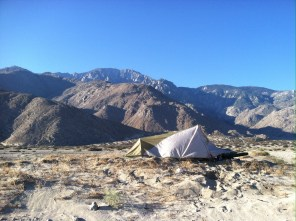 One of my Top 10 campsites - east of Palm Springs, near Windy Cove.