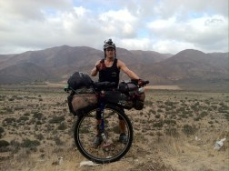 Now I'm Unicycling the World - right on the edge!