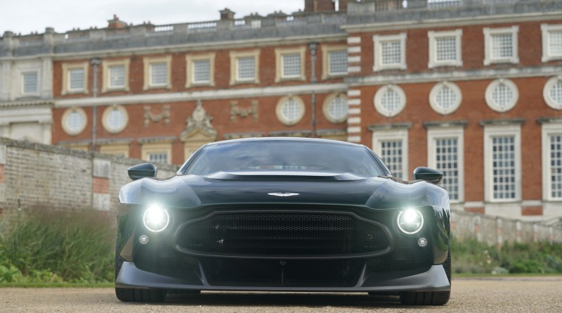 Aston Martin Victor Is A V12 Powered Supercar With Manual Transmission