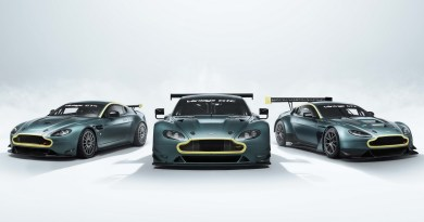 Aston Martin's Offering A Trio Of Vantage GT Cars In Its Legacy Collection