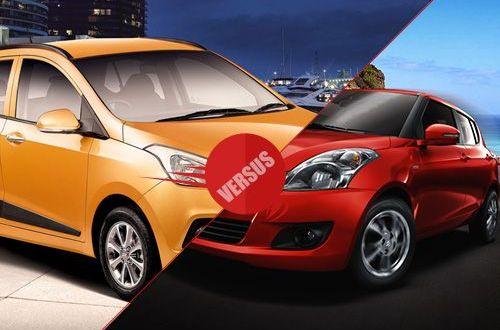 Hyundai i10 Grand versus Maruti Swift