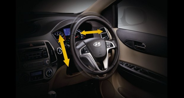 Hyundai i20 Interiors Dashboard