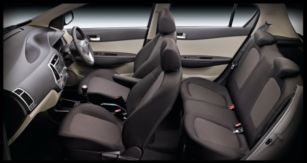 Hyundai i20 Interiors Seats