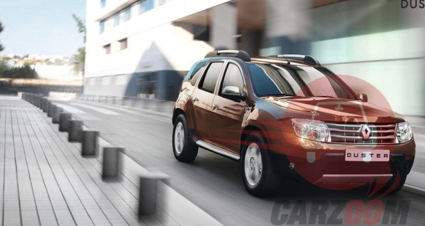 News on launch of Renault Duster 4 x 4