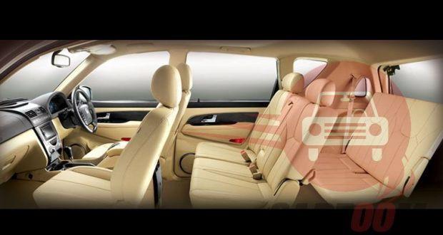 Ssangyong Rexton Interiors Seats