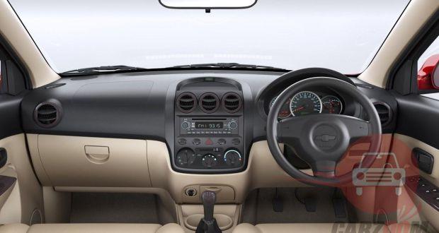 Chevrolet Enjoy Interiors Dashboard
