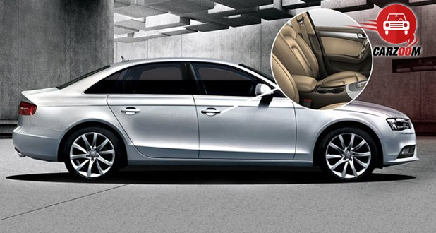 Audi A4 2014 Exteriors Side View