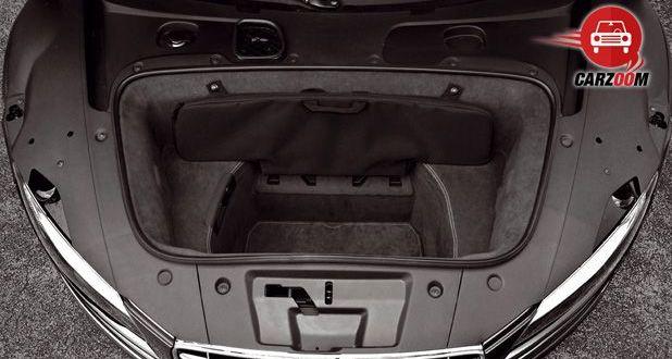 Audi R8 Interiors Bootspace