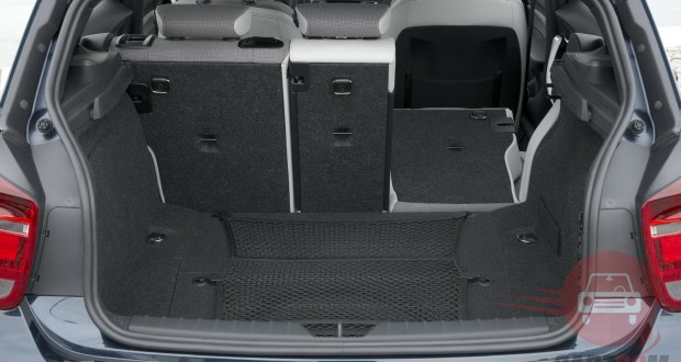 BMW 1 Series Interiors Bootspace
