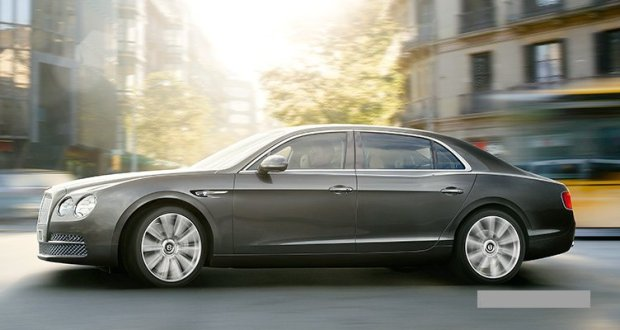 Bentley Continental Flying Spur Exteriors Side View