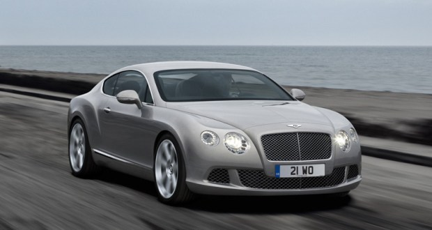 Bentley Continental GT Exteriors Front View