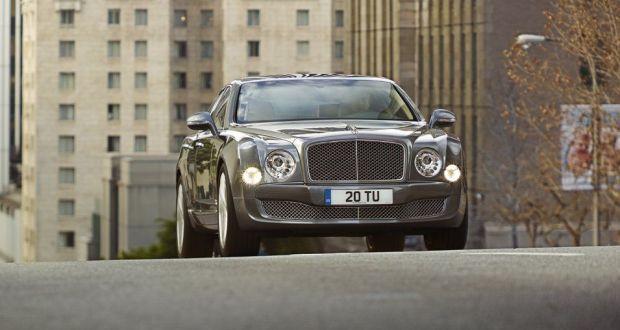 Bentley Mulsanne Exteriors Front View