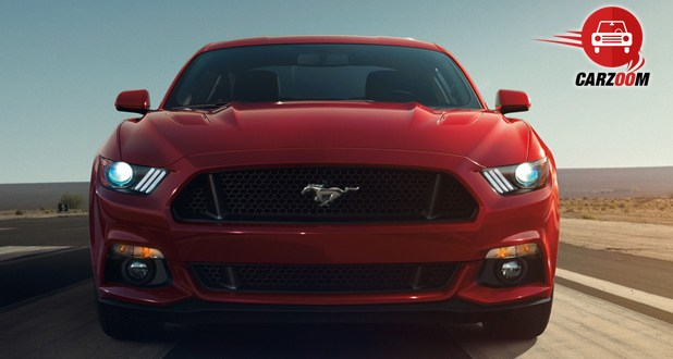 Ford Mustang 2015 Front View