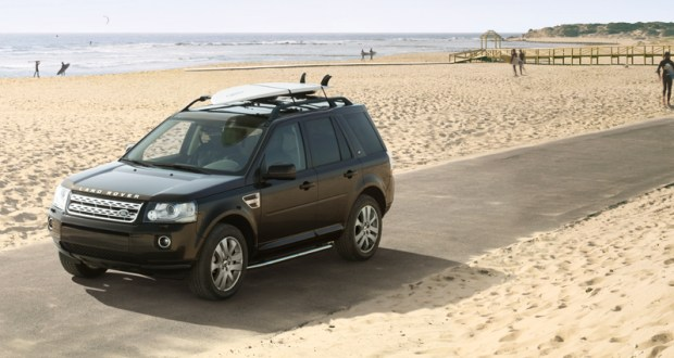 Land Rover Freelander 2 Exteriors Top View