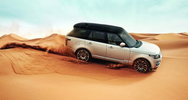 Land Rover Range Rover Exteriors Top View