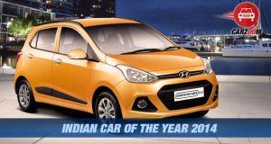 Hyundai Grand i10 Rewarded as Indian Car of the Year 2014