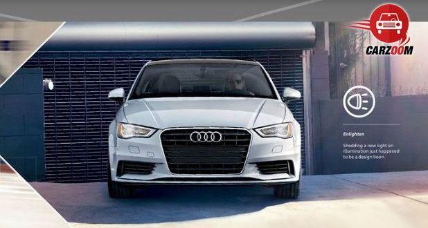 Auto Expo 2014 Audi A3 sedan Exteriors Front View