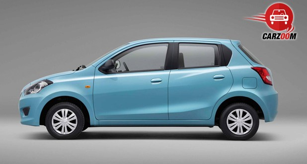 Auto Expo 2014 Datsun Go Exteriors Side View