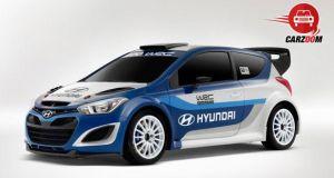 Auto Expo 2014 Hyundai i20 WRC Exteriors Overall