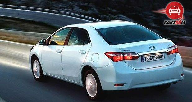 Auto Expo 2014 New Toyota Corolla Exteriors Top View