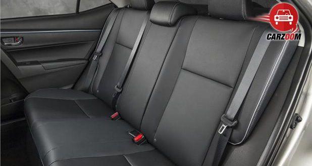 Auto Expo 2014 New Toyota Corolla Interiors Seats